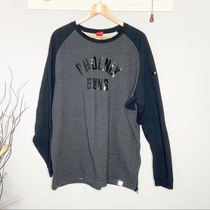 Nike black crew neck sweatshirt Phoenix suns XXL